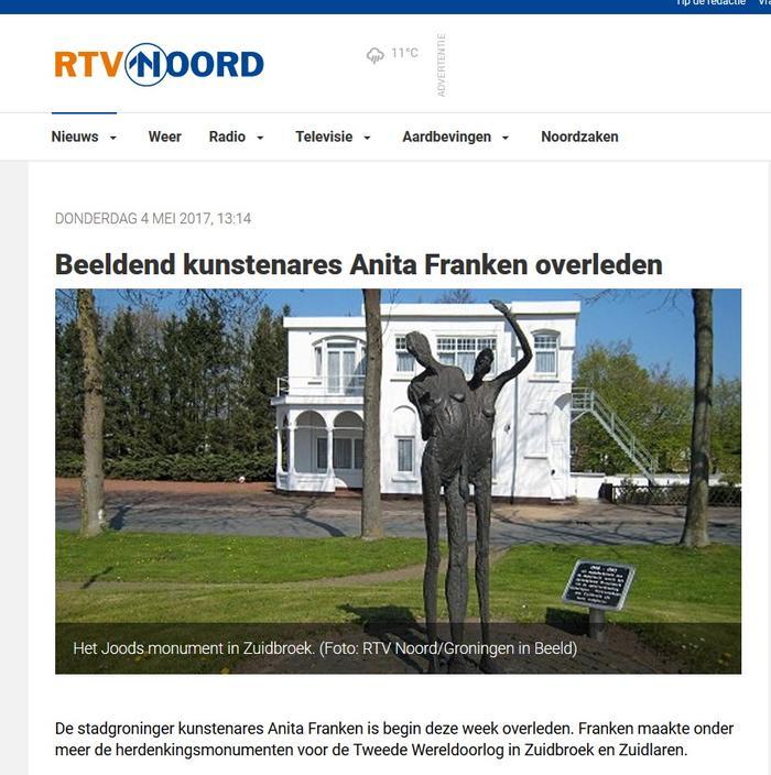 RTV Noord Nieuws over Anita