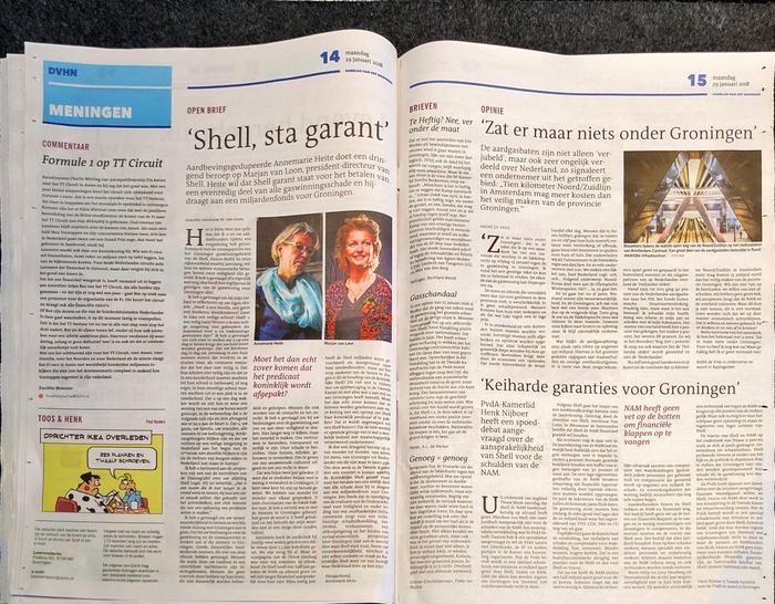 Groningen Noord leden in het nieuws